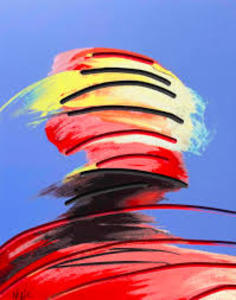 "Adam Neate Dimensional Surface Portrait"""