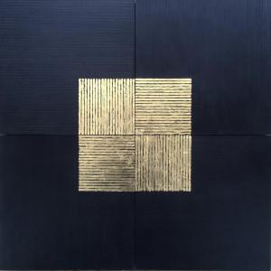 Untitled (Gold quad)