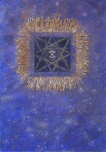 Cosmic Series #6 (Blue Weave)