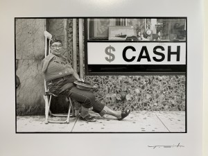 "$Cash from the series ""Miami's Homeless"", 1989"
