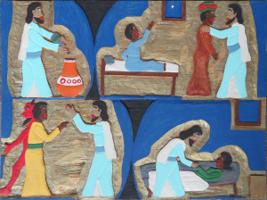 Untitled (Miracles of Jesus)