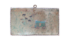 Wagon with Grazing Animals