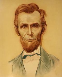 Numeric Abe Lincoln on cartuline I