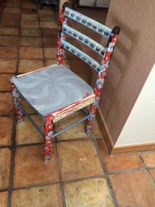 Abstract spin chair
