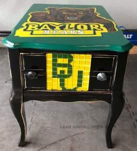 Baylor University Antique side table