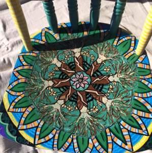 Lady tree Mandela single Antique Chair