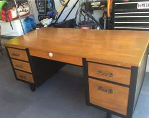 Large office desk re-build