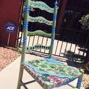 Tribal Den Chair