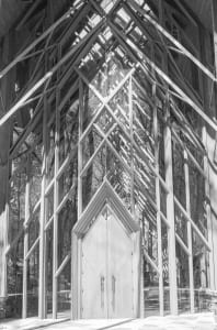 Glass Chapel: Lace and Light—Anthony Chapel 1