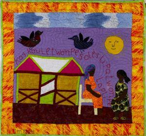 A Leaky Roof May Fool the Sun But It Cannot Fool the Rain - Kay koule twonpe solèy men li pa ka twonpe lapli