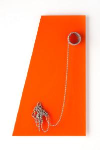 Moderne'  Trapezoid orange