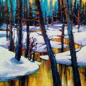 Frozen Creek Study II