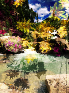 The Grottos with Flowers 2