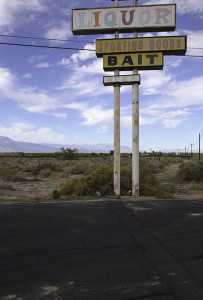 Salton Sea Liquor Sign