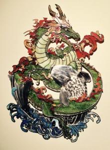 Dragon & Koi