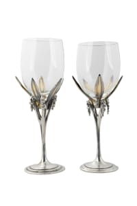 Lilly of the Valley Goblets (2 pieces in each set)