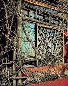 废弃胡同,北京,2008