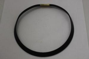 黑色橡胶颈链#2