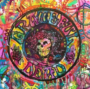 Grateful Dead Skull and Roses Redux