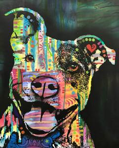 The Exuberant Pit Bull