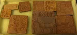 Indus Valley Seals 2 (Reproduction)
