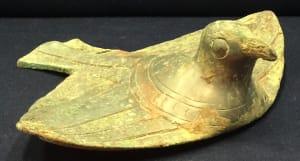 Zoomorphic Bird Ritual Vessel Cover