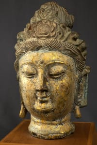Later Dynasty  Guanyin Head