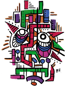 """""""Sesame"""" Limited Edition Prints set of 20 #7 of 20"""