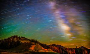 Pandora's Evening Rainbow