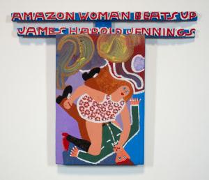 Amazon Woman Beats Up James Harold Jennings