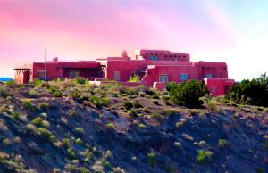 Painted Desert Inn, Sunset