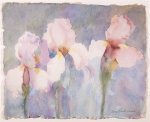 Serenity (Irises)