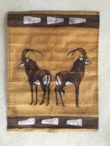 Roan Antelope Batik