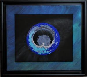 Teardrop Torus Blue