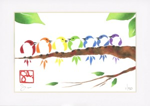 Bird Series - Branch