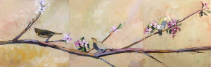 'Spring Melodies' Triptych