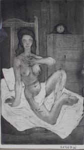 Untitled - Nude Woman on Bed