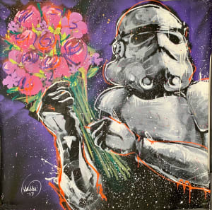 Storm Trooper Flowers Left