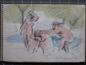 #2077 Sketchbook Orpheus 1973