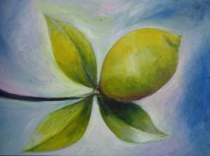 1004 Lemon Three Leaves