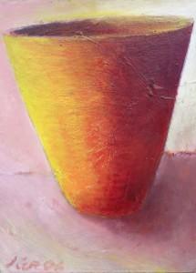 1140 Yellow Orange Cup