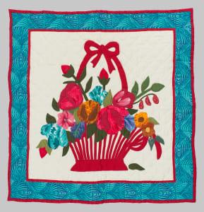 Summer Flower Basket Quilt