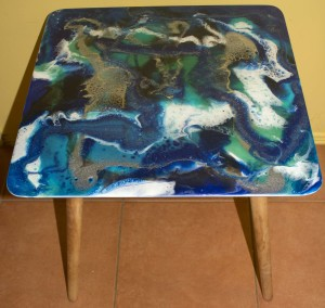 Coffee/Lamp table 50cm Square Lamp Table