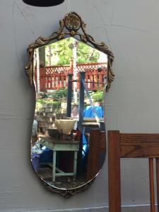 1920's art deco mirror