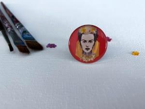 'Frida Kahlo Inspired' Flower Resin Ring