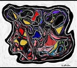 Woman, Head, Face