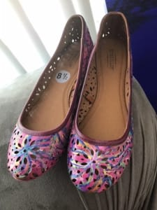 Art On Shoes Series/Collection/designs(Delicate and grace in pink)