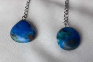 Fused Glass Earrings #32