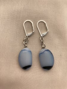 Fused Glass Earrings #30