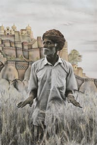 Sumer Singh in his Fields
